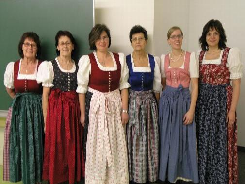 Dirndlnähkurs Trachtennähkurs in Bernau - München - Miesbach