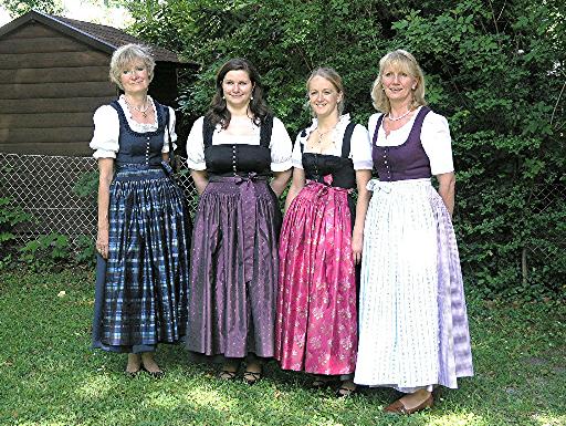 Dirndlnähkurs Trachtennähkurs in Miesbach