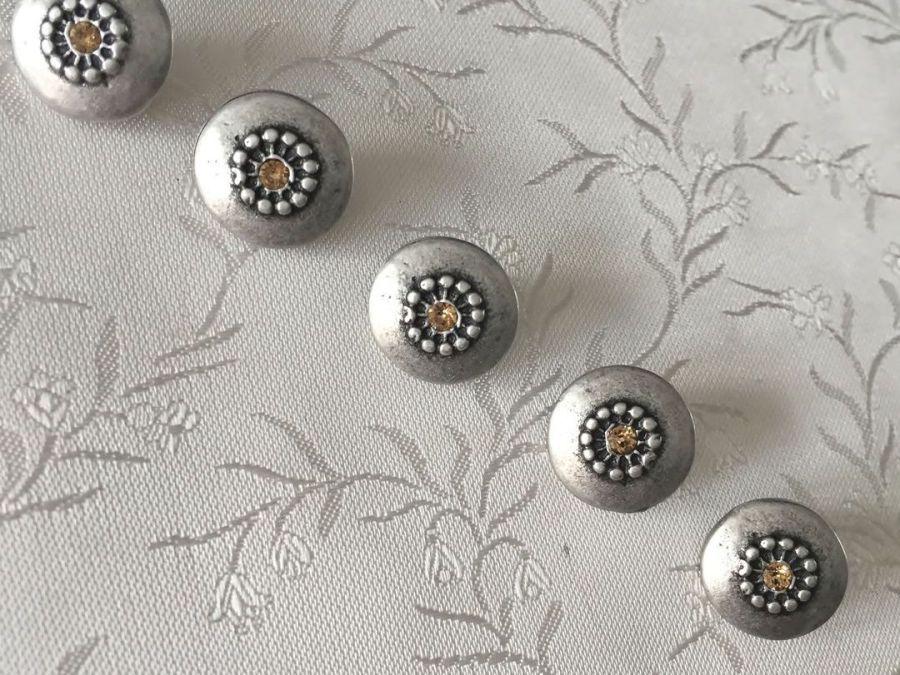 Dirndlknöpfe Trachtenknöpfe mit Swarovski Steinen ❖ Online Shop