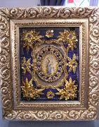 Material und Zubehör für Klosterarbeiten und Goldstickerei erhältlich im Chiemgauer Heimatwerk und Online Shop